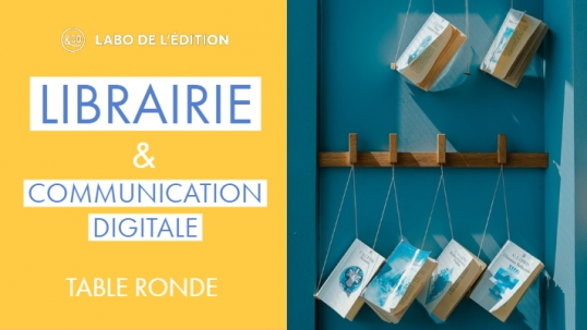 librairie et communication digitale table ronde